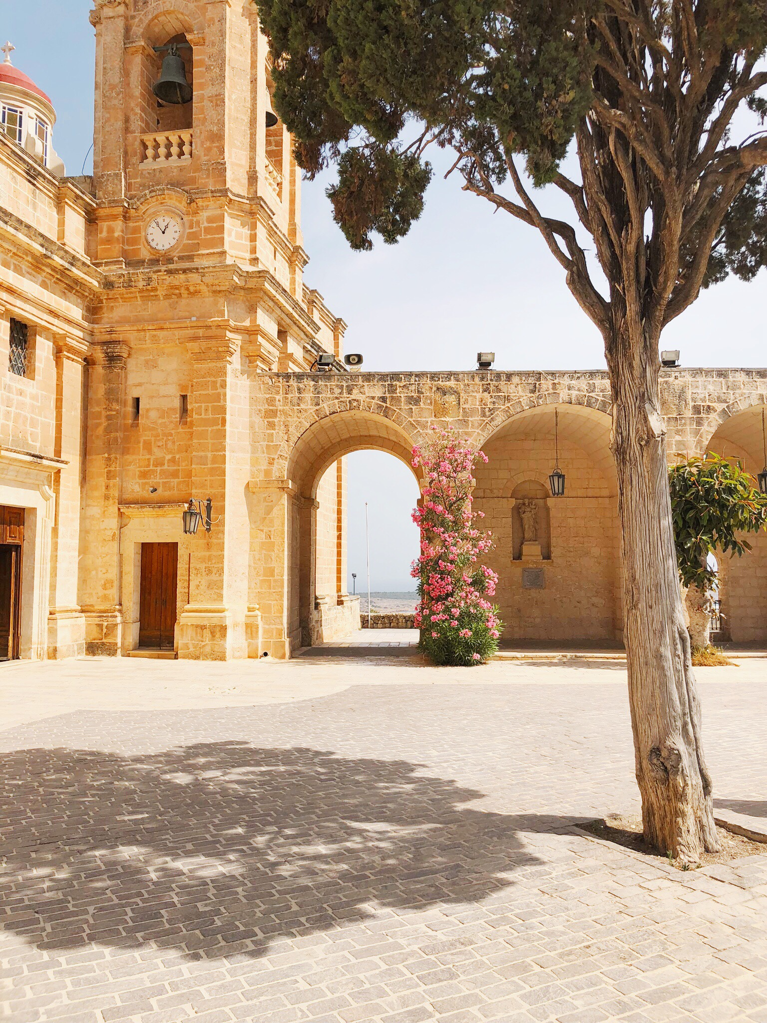 Mellieha church in Malta
