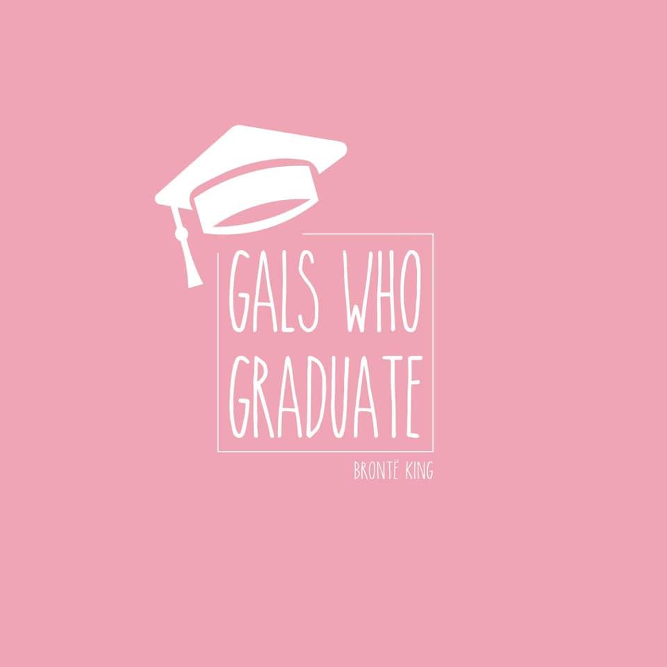 Gals who graduate logo, Bronte King