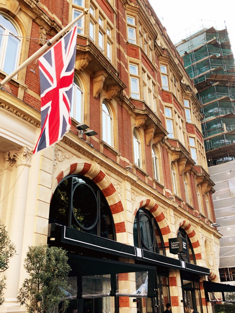 Leicester Square Kitchen facade, London